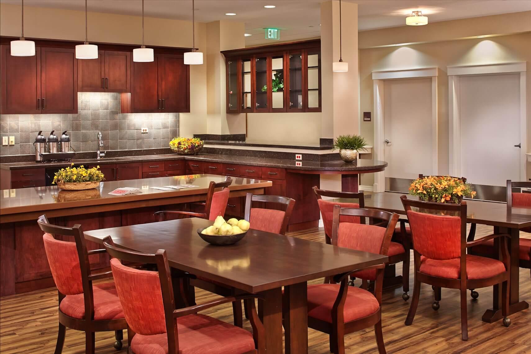 senior dining room