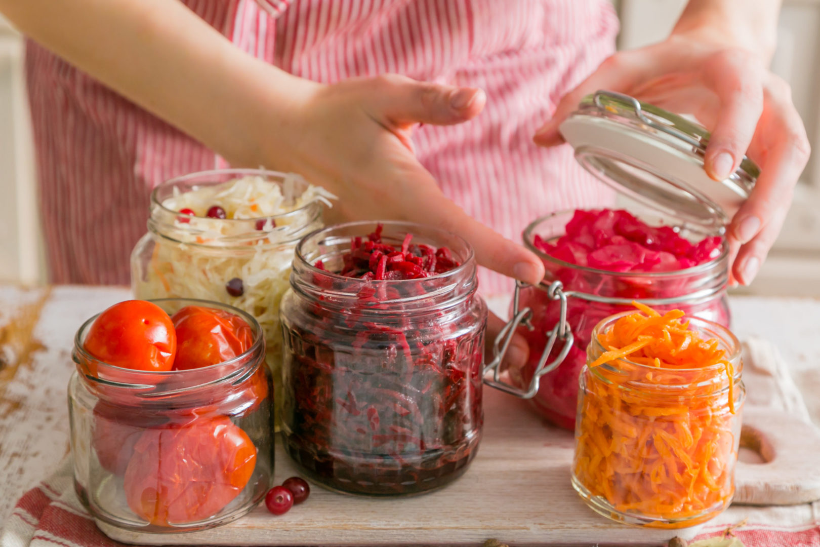 food for seniors to promote gut health