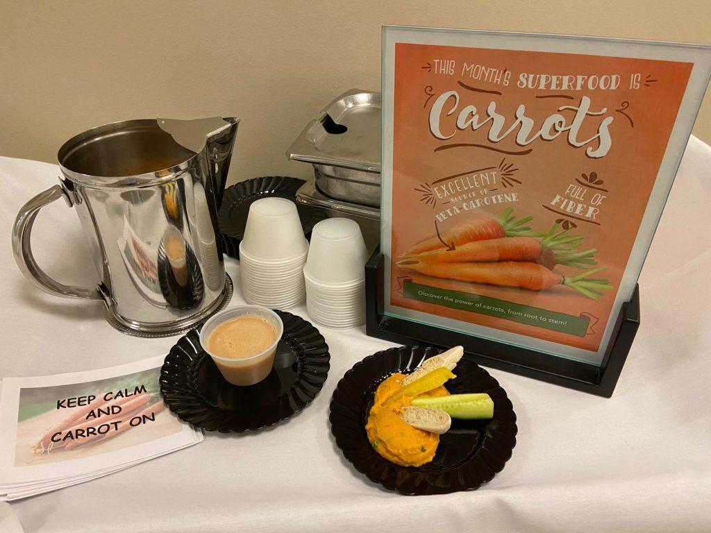 benefits of carrots for senior health