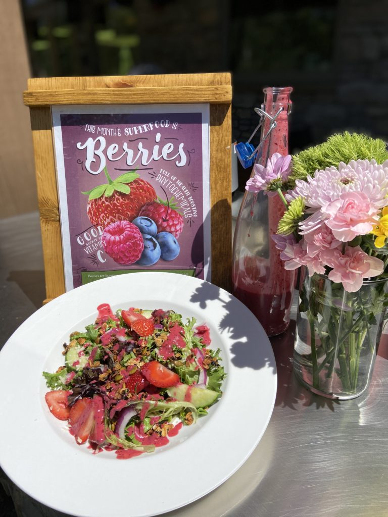 summer berry vinaigrette